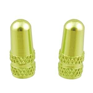 ノグチ(NOGUCHI) アルミ製バルブキャップ [仏式用] 2個入り グリーン 111591