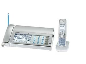 パナソニック デジタルコードレスFAX 子機1台付き 1.9GHz DECT準拠方式 シルバー KX-PD701DL-S