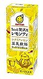 マルサン 豆乳飲料ちょっと贅沢なレモンティ 200ml ×24本