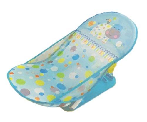 ベビーバスチェア 入浴補助用具 新生児から 11kgまで 乳幼児 お風呂チェア 折りたたみ ソフト バスチェア 3...