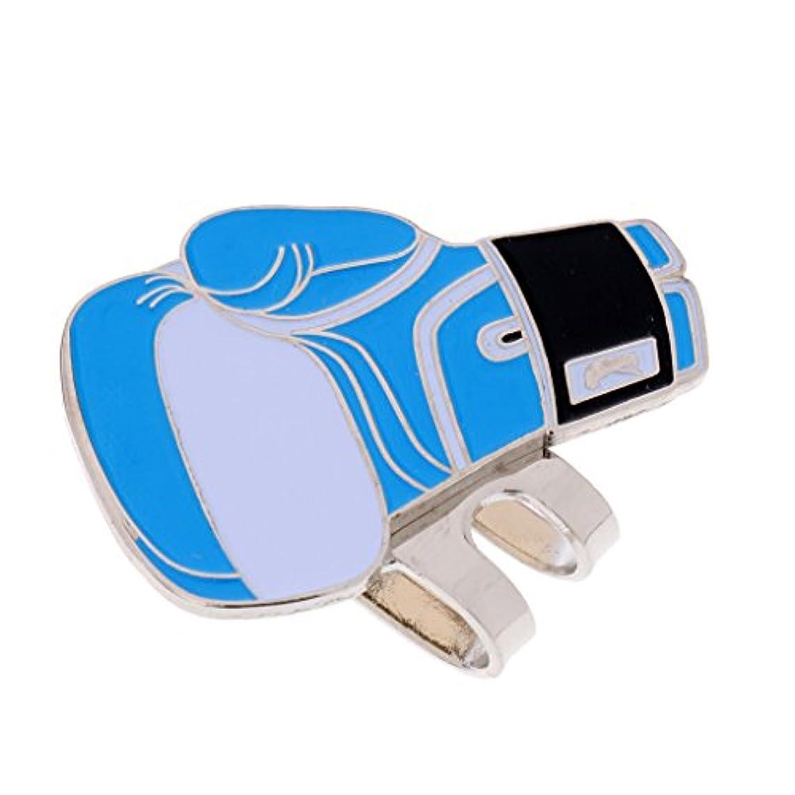 蜜樫の木民間T TOOYFUL 磁気帽子クリップゴルフボール マーカー 丈夫な ボクシンググローブ 帽子 バイザー用