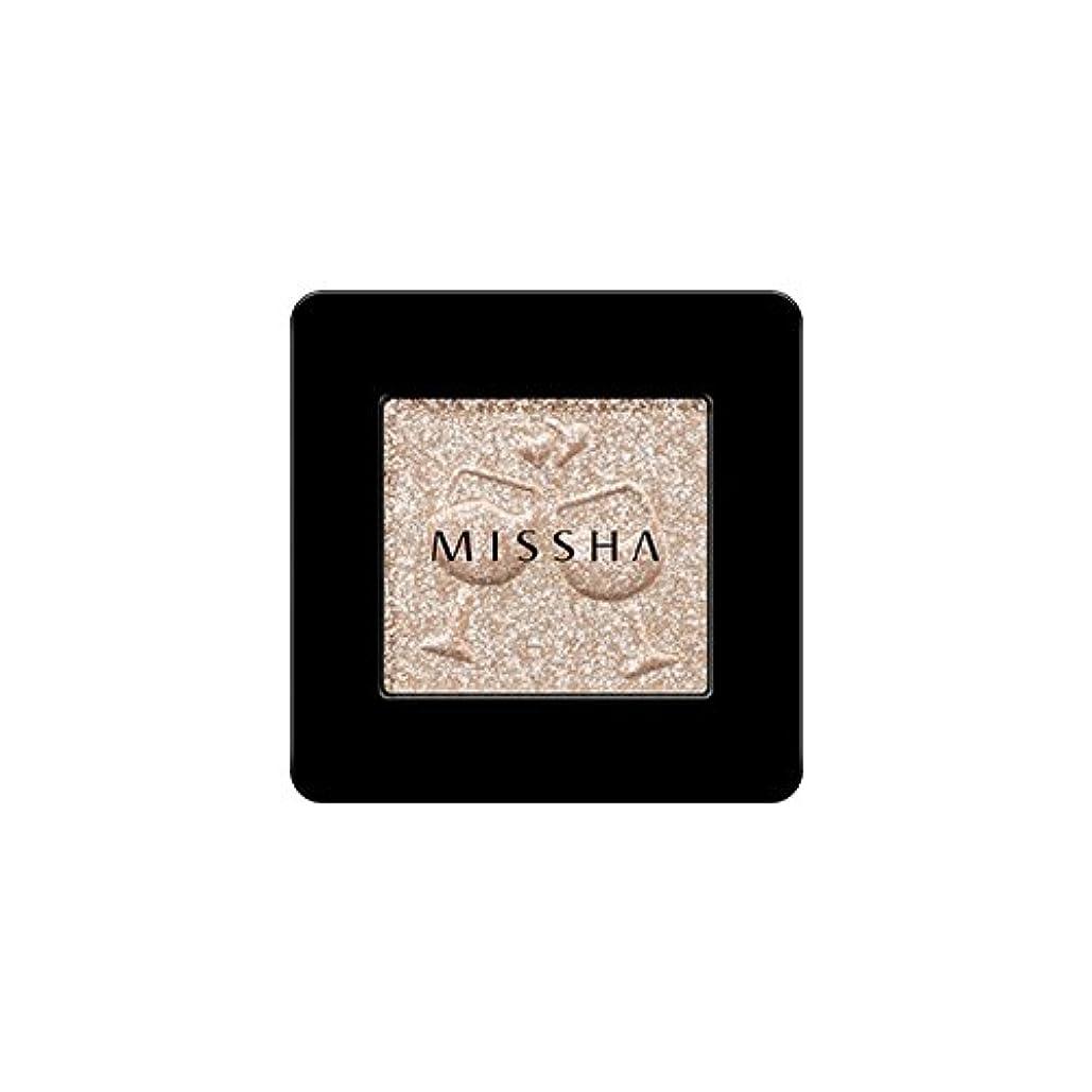 衰える試み詳細に[2016 F/W New Color] MISSHA Modern Shadow [Glitter]/ミシャ モダン シャドウ [グリッター] (#GBE03 Vanilla Champagne)