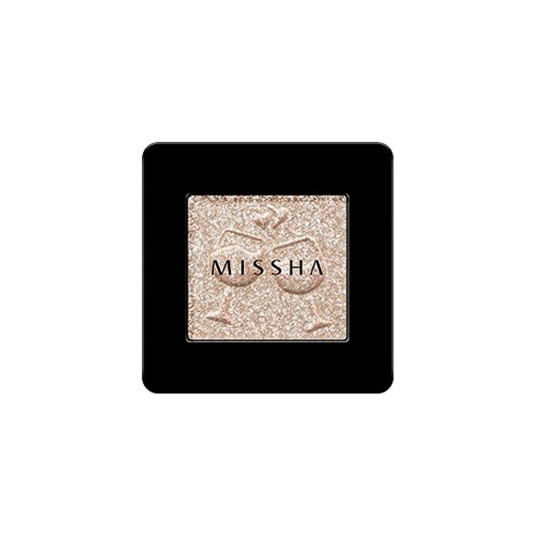 生き残ります事務所一族[2016 F/W New Color] MISSHA Modern Shadow [Glitter]/ミシャ モダン シャドウ [グリッター] (#GBE03 Vanilla Champagne)