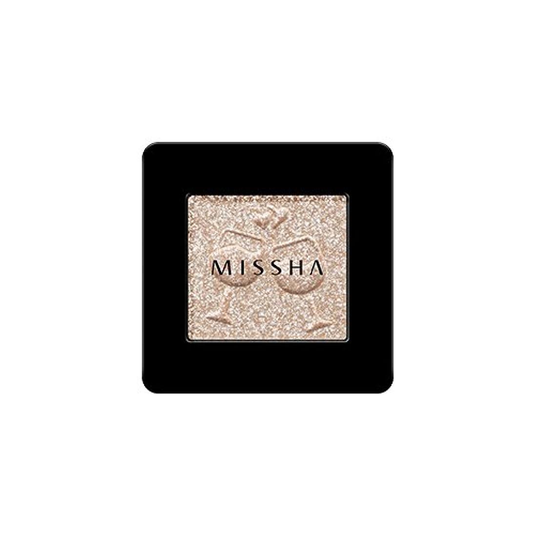 どれでもサイト柱[2016 F/W New Color] MISSHA Modern Shadow [Glitter]/ミシャ モダン シャドウ [グリッター] (#GBE03 Vanilla Champagne)
