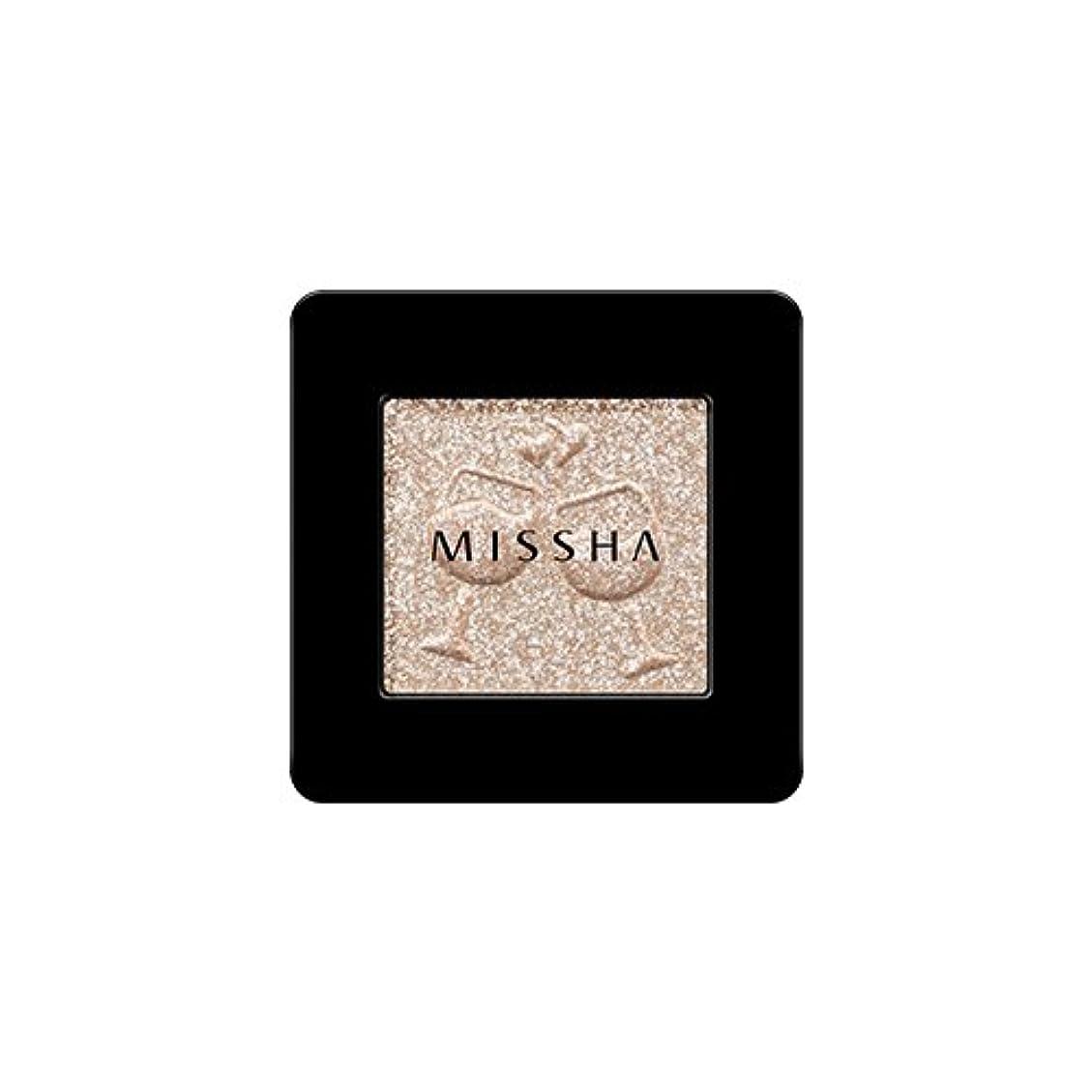 農場ネクタイねばねば[2016 F/W New Color] MISSHA Modern Shadow [Glitter]/ミシャ モダン シャドウ [グリッター] (#GBE03 Vanilla Champagne)