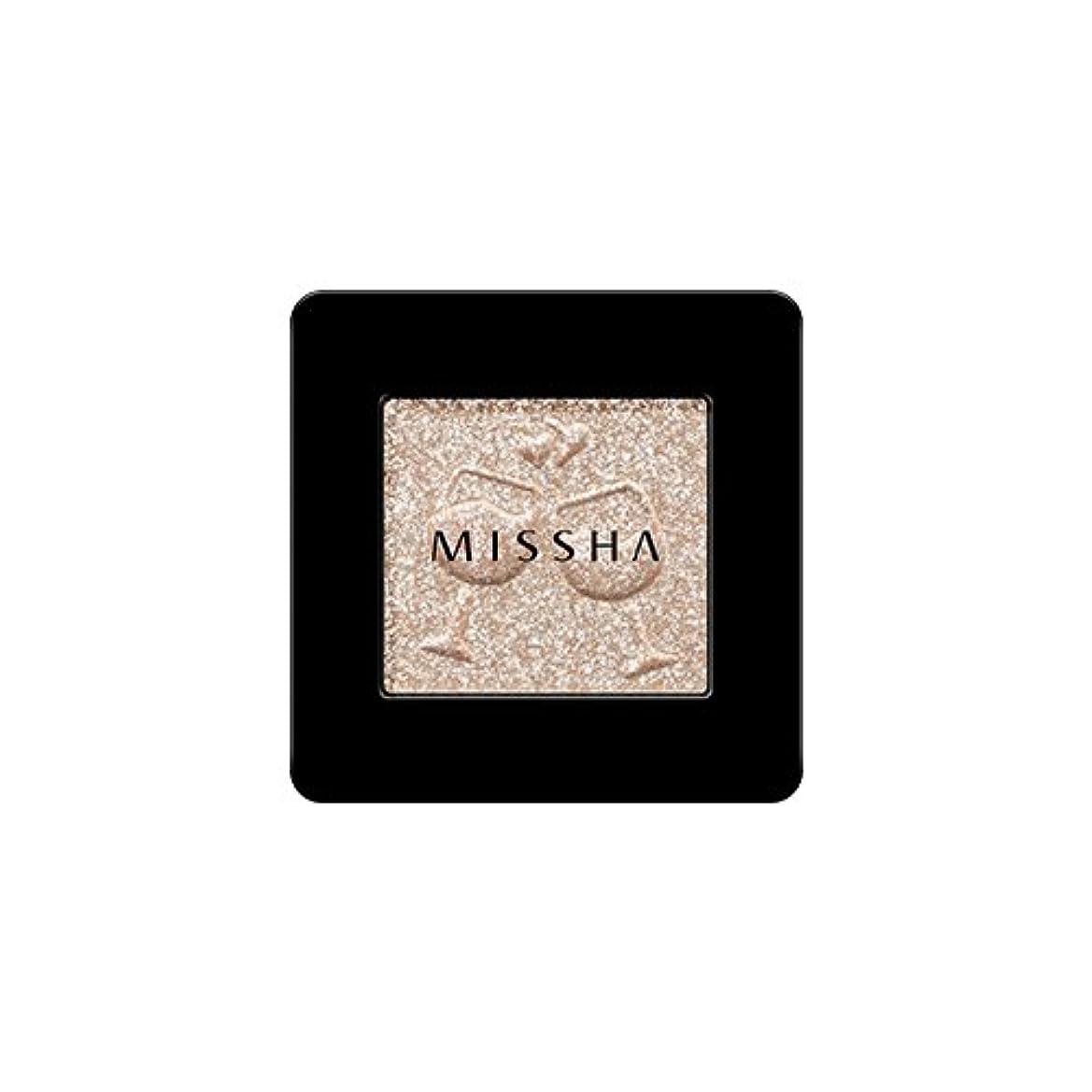 事件、出来事蒸気知らせる[2016 F/W New Color] MISSHA Modern Shadow [Glitter]/ミシャ モダン シャドウ [グリッター] (#GBE03 Vanilla Champagne)
