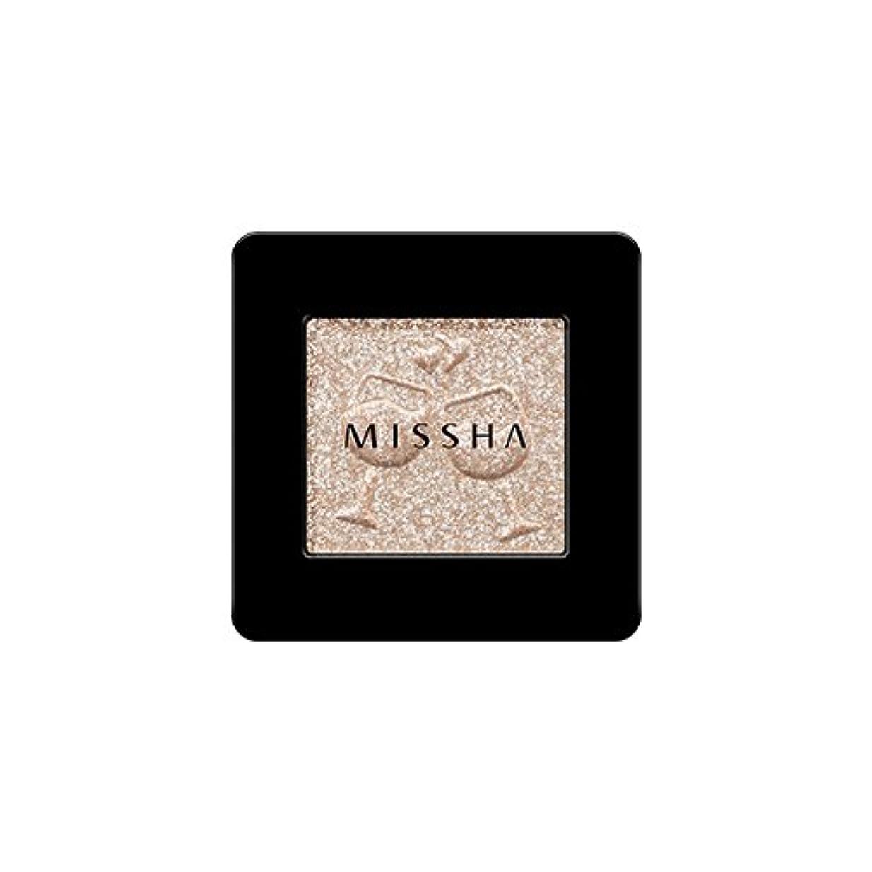 兵器庫サラダ汚れた[2016 F/W New Color] MISSHA Modern Shadow [Glitter]/ミシャ モダン シャドウ [グリッター] (#GBE03 Vanilla Champagne)