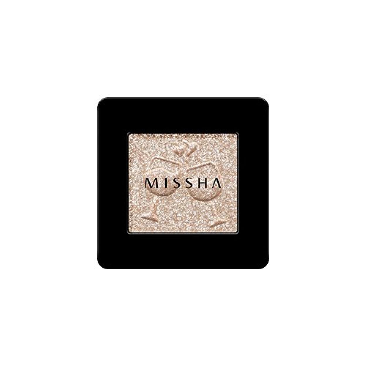 ドリンク爪株式[2016 F/W New Color] MISSHA Modern Shadow [Glitter]/ミシャ モダン シャドウ [グリッター] (#GBE03 Vanilla Champagne)