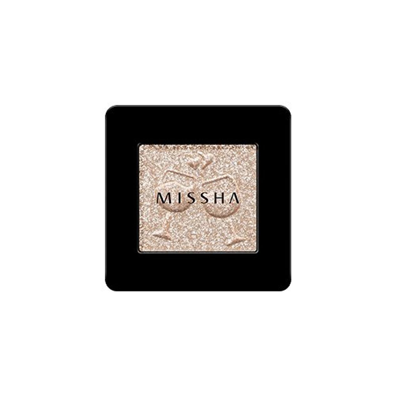 寄付従者重なる[2016 F/W New Color] MISSHA Modern Shadow [Glitter]/ミシャ モダン シャドウ [グリッター] (#GBE03 Vanilla Champagne)
