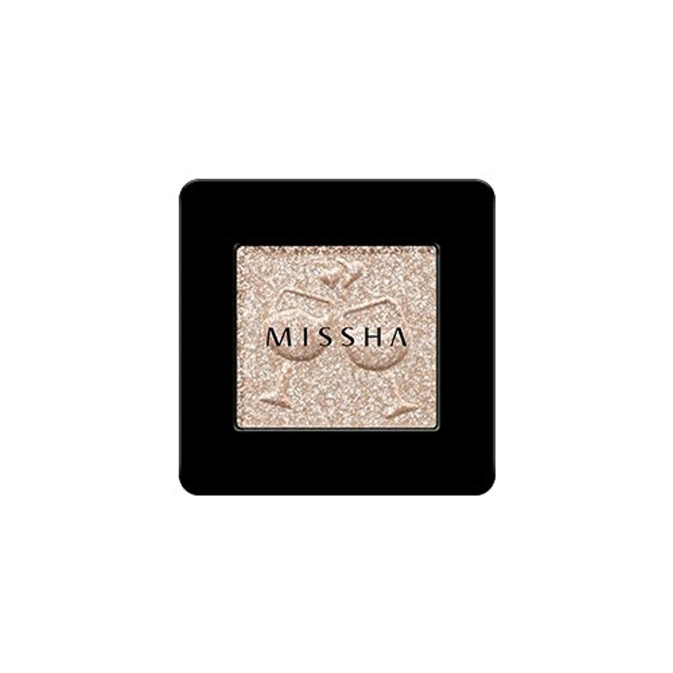 知的平和命令的[2016 F/W New Color] MISSHA Modern Shadow [Glitter]/ミシャ モダン シャドウ [グリッター] (#GBE03 Vanilla Champagne)