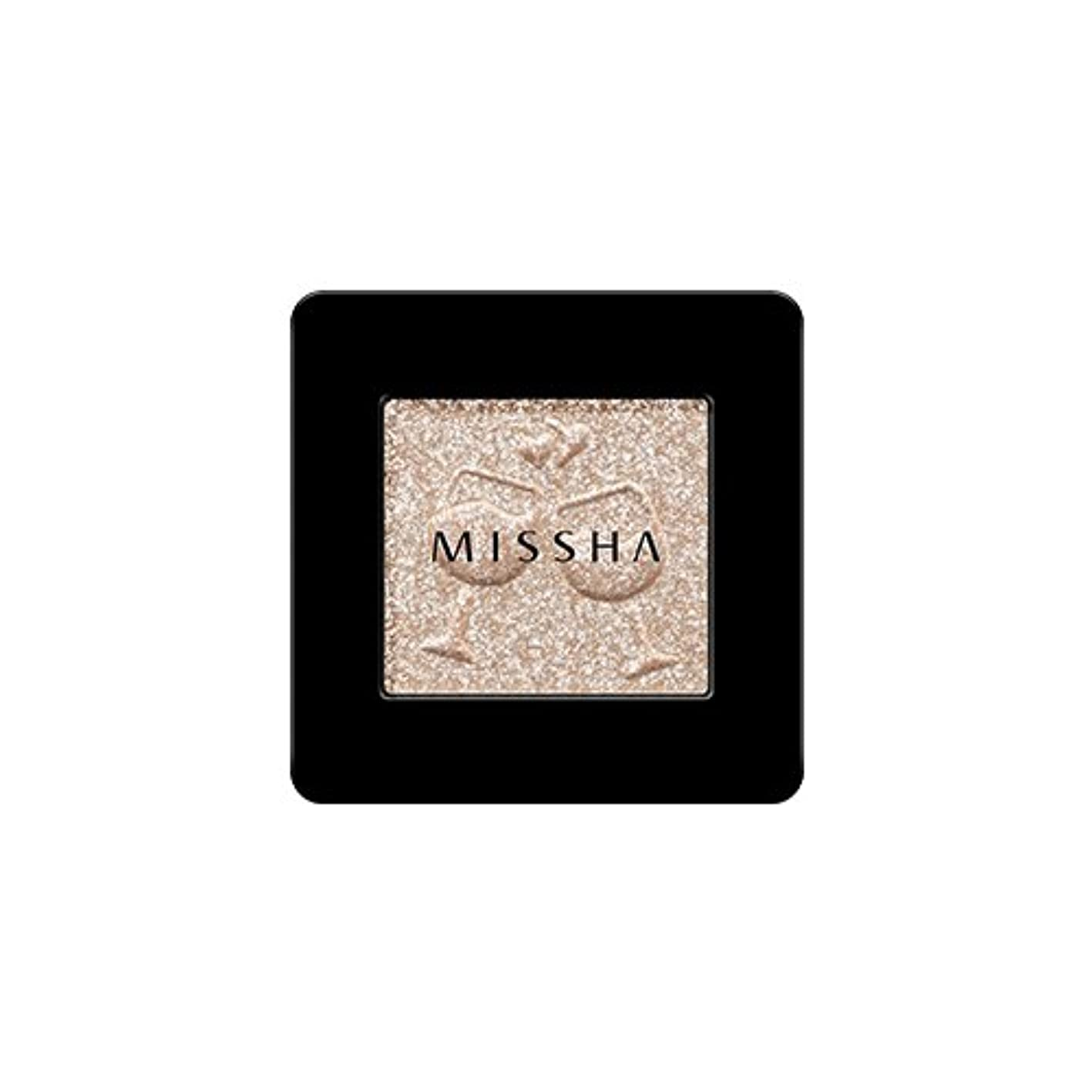 普遍的な通信網実際[2016 F/W New Color] MISSHA Modern Shadow [Glitter]/ミシャ モダン シャドウ [グリッター] (#GBE03 Vanilla Champagne)