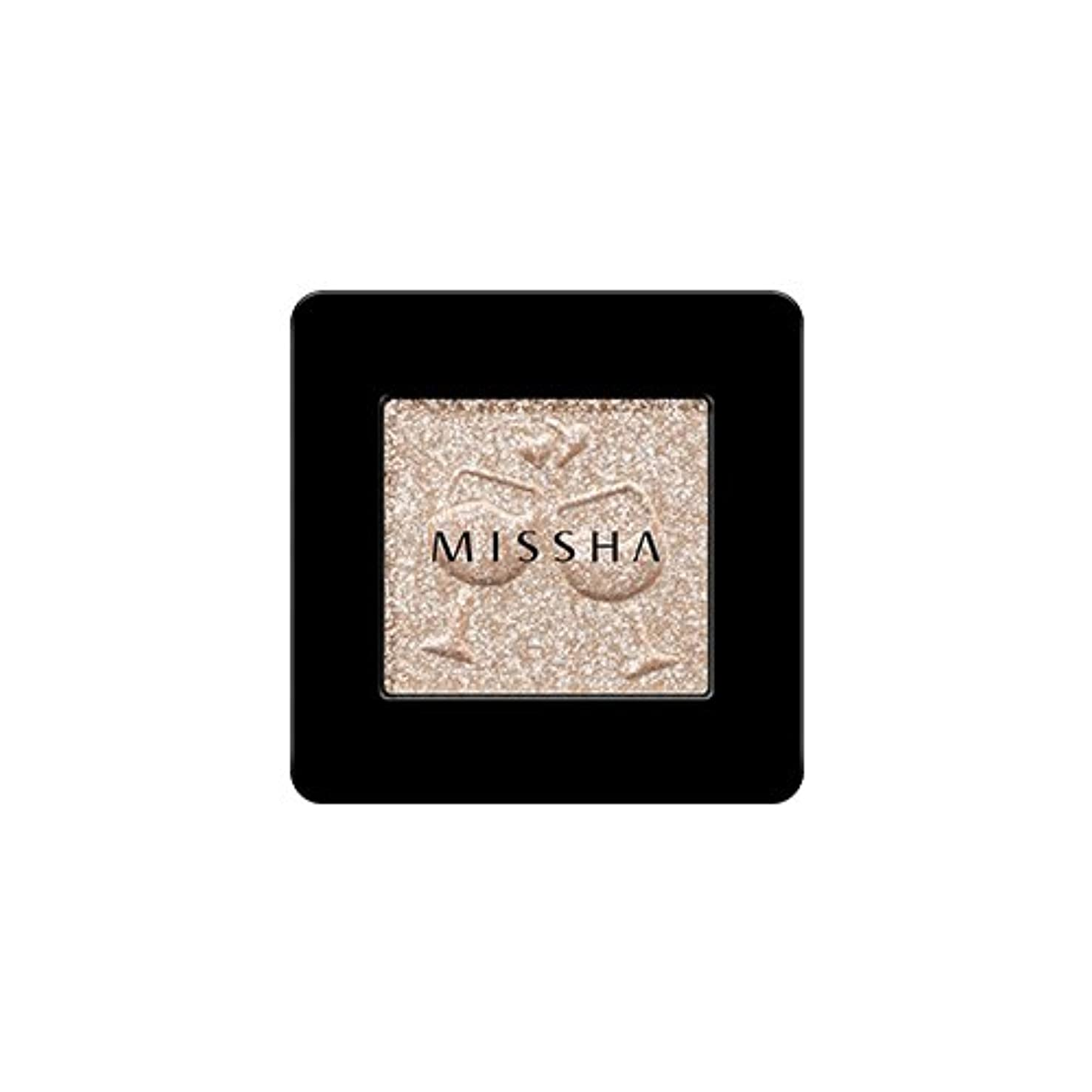 領域名誉タイトル[2016 F/W New Color] MISSHA Modern Shadow [Glitter]/ミシャ モダン シャドウ [グリッター] (#GBE03 Vanilla Champagne)