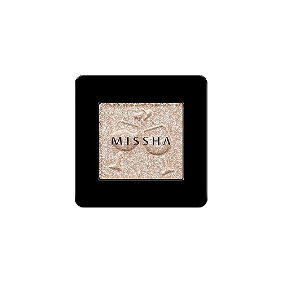 冷ややかな虐殺マインドフル[2016 F/W New Color] MISSHA Modern Shadow [Glitter]/ミシャ モダン シャドウ [グリッター] (#GBE03 Vanilla Champagne)
