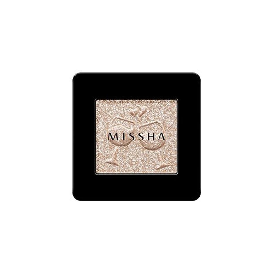 自治的フレッシュ過度に[2016 F/W New Color] MISSHA Modern Shadow [Glitter]/ミシャ モダン シャドウ [グリッター] (#GBE03 Vanilla Champagne)