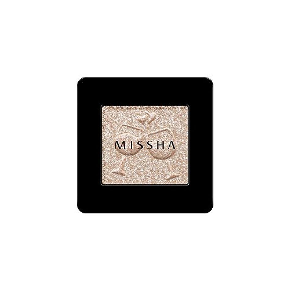 強い句バラ色[2016 F/W New Color] MISSHA Modern Shadow [Glitter]/ミシャ モダン シャドウ [グリッター] (#GBE03 Vanilla Champagne)