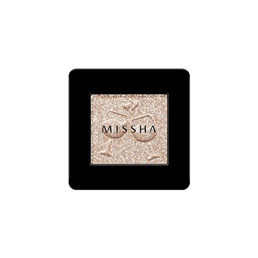 聴覚障害者虫を数える接地[2016 F/W New Color] MISSHA Modern Shadow [Glitter]/ミシャ モダン シャドウ [グリッター] (#GBE03 Vanilla Champagne)