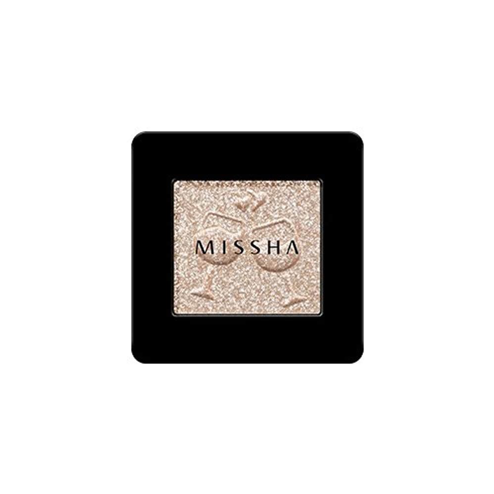 無関心元に戻すなる[2016 F/W New Color] MISSHA Modern Shadow [Glitter]/ミシャ モダン シャドウ [グリッター] (#GBE03 Vanilla Champagne)
