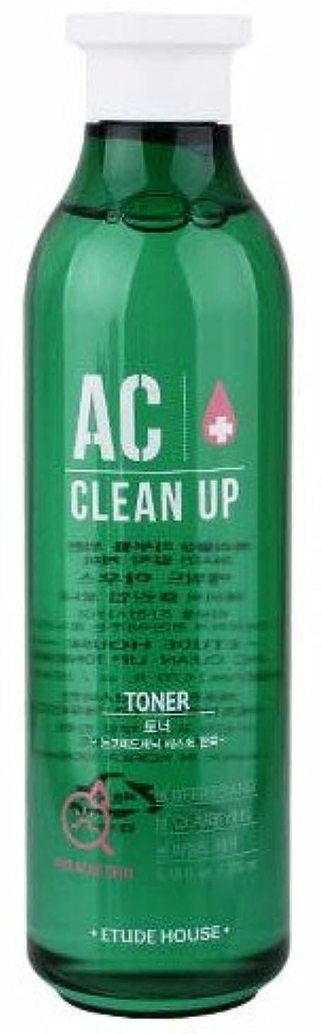 人形鼻逆さまにエチュードハウス(ETUDE HOUSE) ACクリーンアップトナー 化粧水 AC CLEAN UP TONER 200ml [並行輸入品]