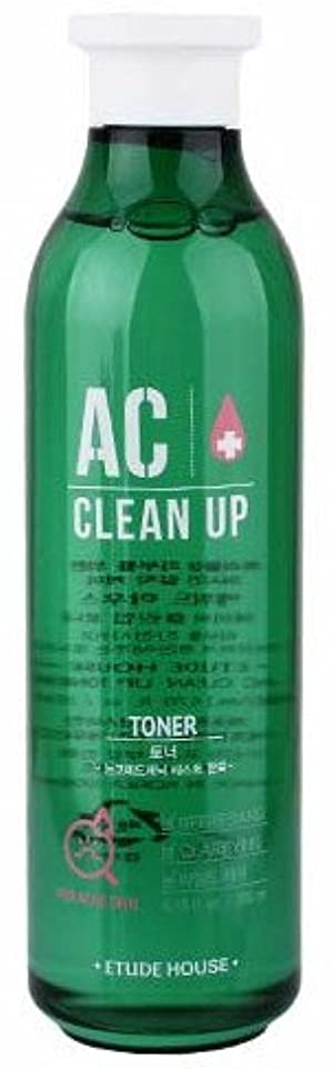 酔ったミサイルのどエチュードハウス(ETUDE HOUSE) ACクリーンアップトナー 化粧水 AC CLEAN UP TONER 200ml [並行輸入品]