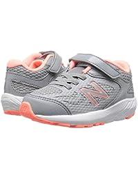 [new balance(ニューバランス)] キッズランニングシューズ??スニーカー?靴 KV519v1I (Infant/Toddler) Steel/Azalea 7 Toddler (14.5cm) M