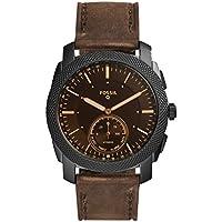 Fossil Men's FTW1163 Smart Digital Brown Watch