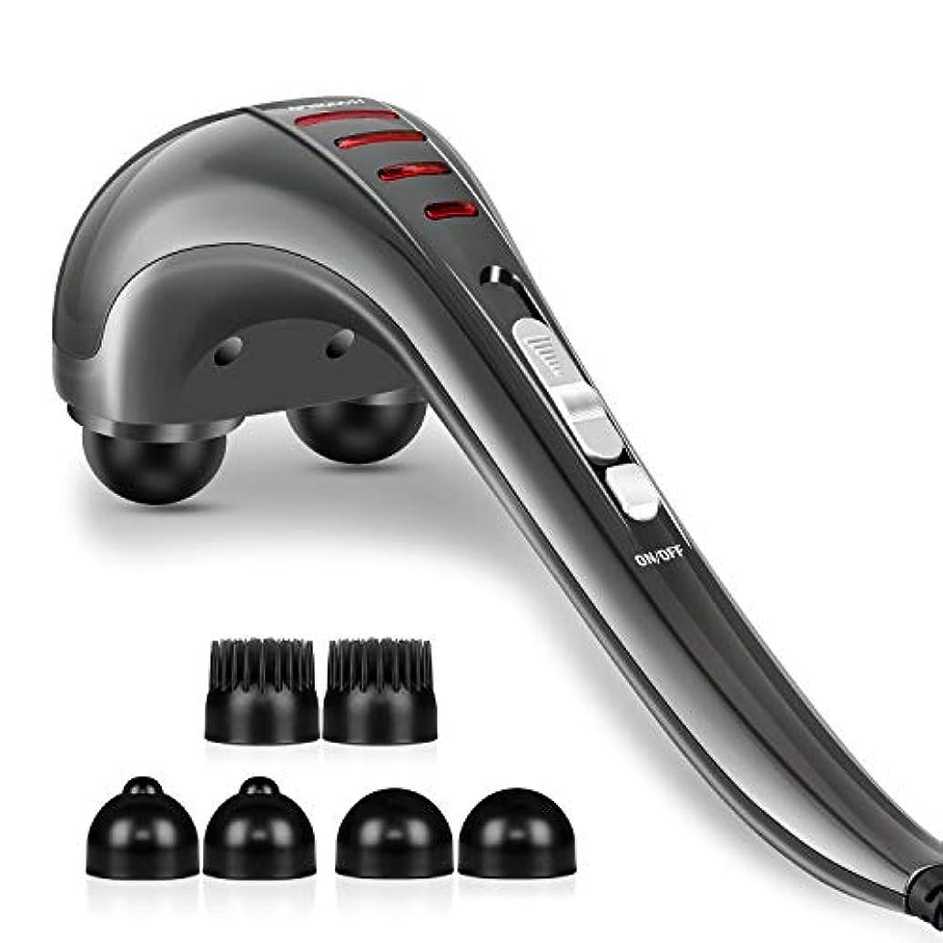 毎週反対に悔い改めるHangsun Handheld Neck Back Massager MG460 Deep Tissue Percussion Massage for Shoulder, Leg, Foot, Muscles, Electric...
