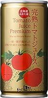 沼田町 北のほたる 完熟トマトジュースプレミアム(無塩) 190g缶×30本入×2ケース(60本)