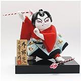 わらべ歌舞伎人形 外郎売 (ういろう うり) 【歌舞伎 博多人形 西頭哲三郎】