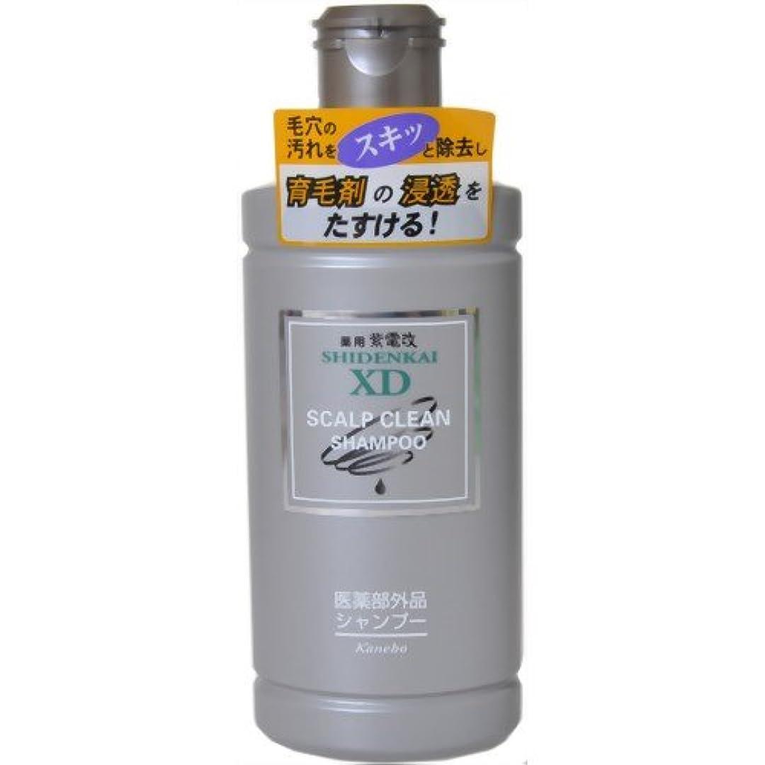 素朴なアーサー抑制するカネボウ 薬用紫電改X.Dシャンプー 250ml