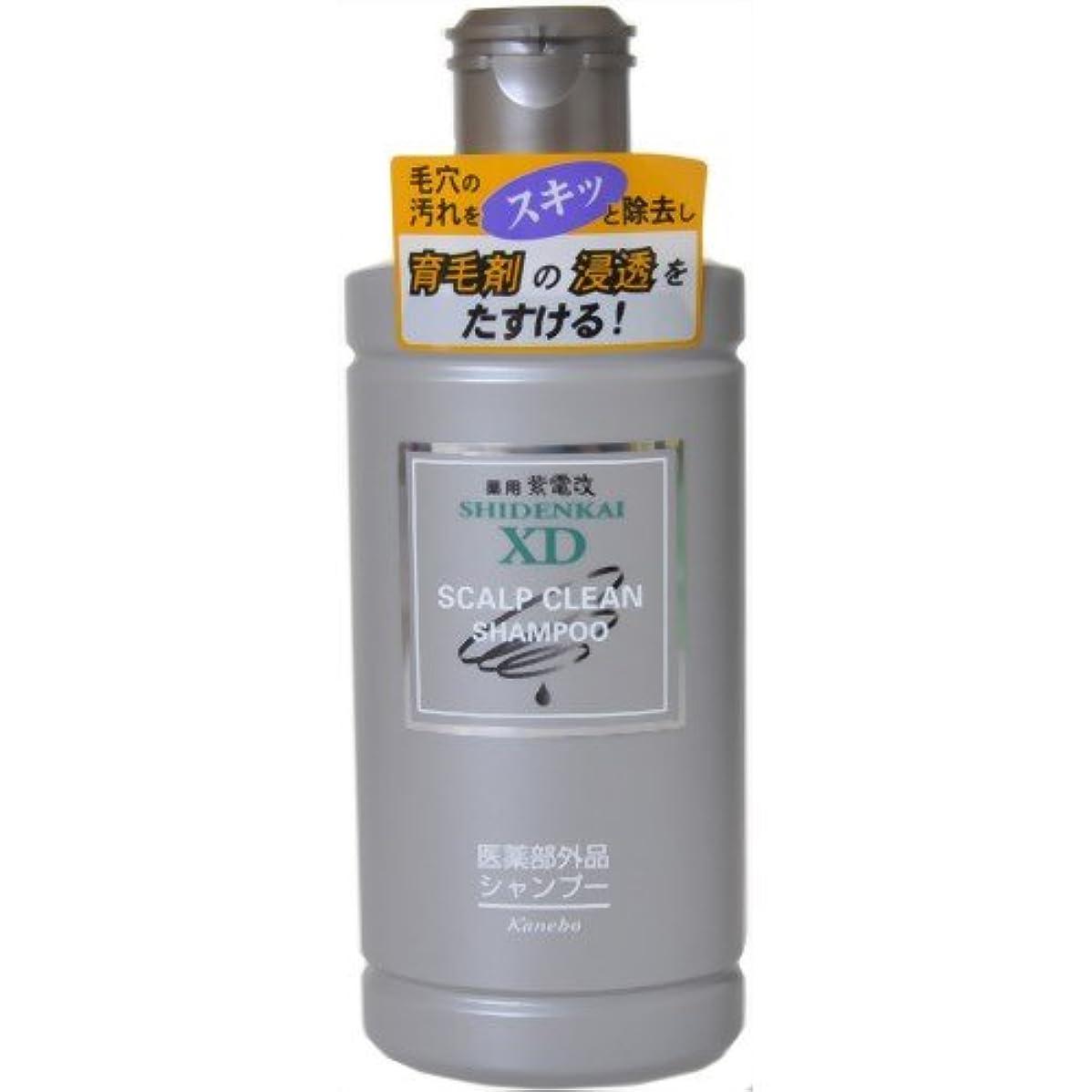 ヘア不正直大脳カネボウ 薬用紫電改X.Dシャンプー 250ml