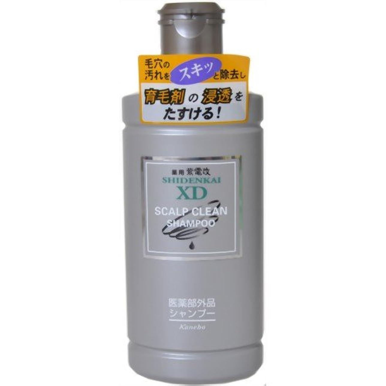 光沢のあるお酒三番カネボウ 薬用紫電改X.Dシャンプー 250ml