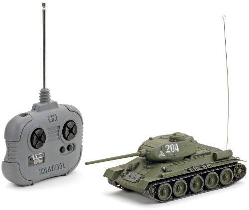 1/35 ラジオコントロールタンクシリーズ No.8 1/35 ソビエト T3485 中戦車(4chユニット付き) 48208