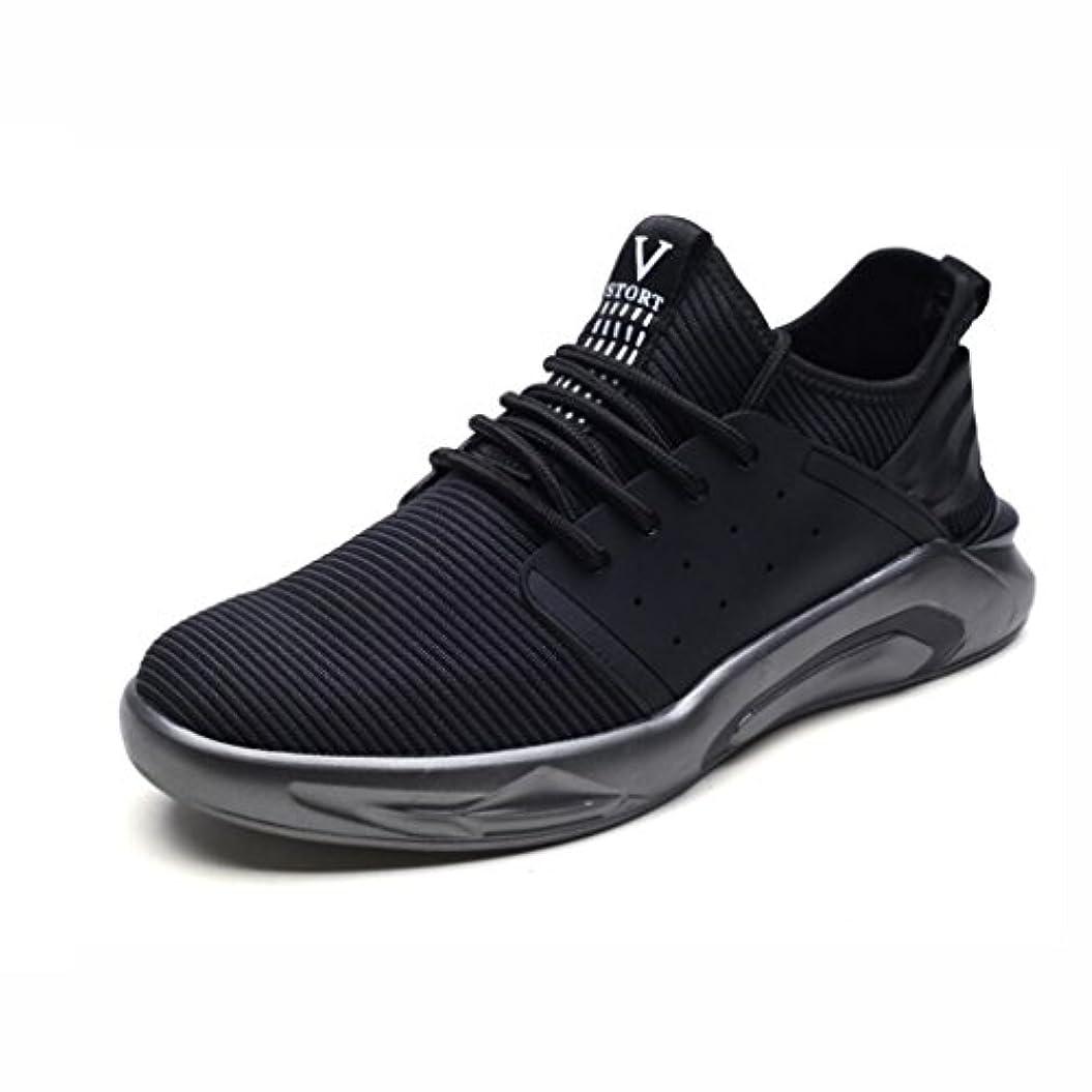 スクラップ容疑者精度スニーカー、カジュアルハイキングシューズ、通気性シングルシューズ、カジュアルスポーツ学生ランニングシューズ、タイドシューズ、メンズトレーナーRoad Running Shoes (色 : A, サイズ : 42)