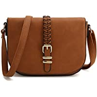 Casual Small Crossbody Saddle Bags for Women Shoulder Purse Designer Handbags