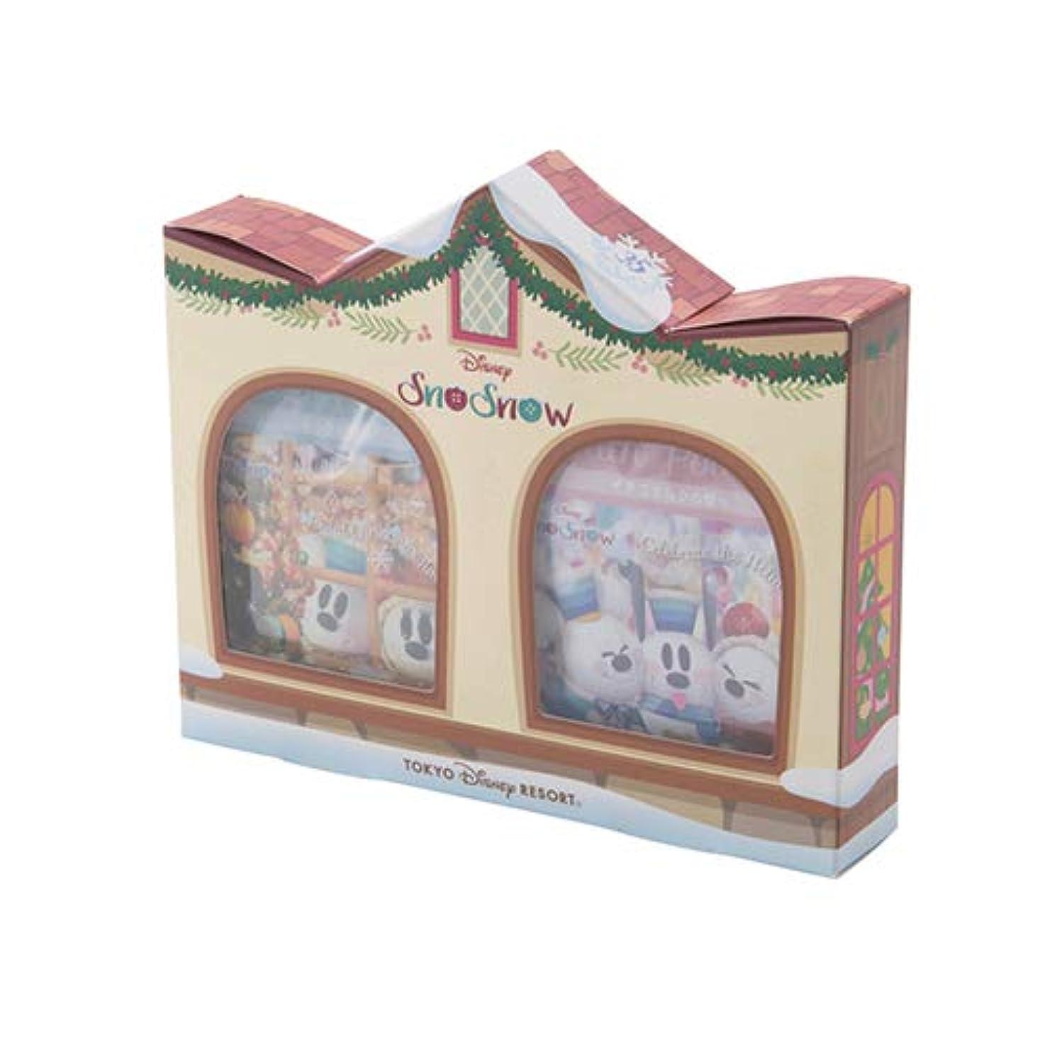 運営一生ラフトスノーミッキー 入浴剤 スノースノー ディズニー クリスマス 2018 箱入り ディズニー お土産 【東京ディズニーリゾート限定】
