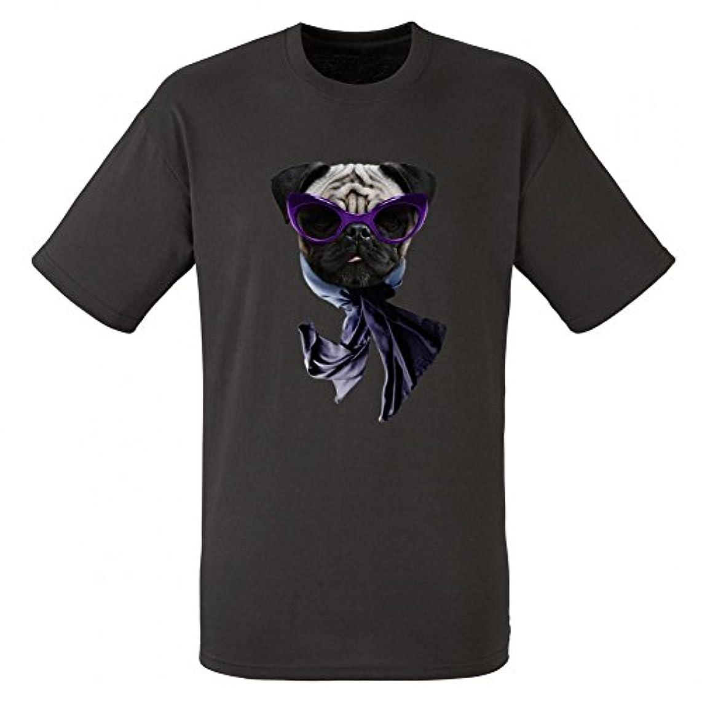 急流重さ外出Pug Face Tシャツ