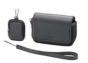 Panasonic デジタルカメラケース LUMIX ベルト通しあり バッテリーケース付 ブラック DMW-CT20-K