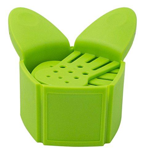 EXELUX スナップビット グリーン 湯切り 水切り 直径15~6cmの鍋対応 DAKSNB-GR