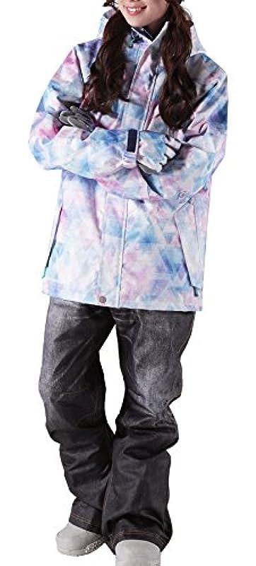 icepardal(아이스 파 달) 10월하순 예약전20 색체격 리얼 데님풍 프린트 팬츠 스노보드 웨어 상하 세트 맨즈 레이디스 IDD-SET
