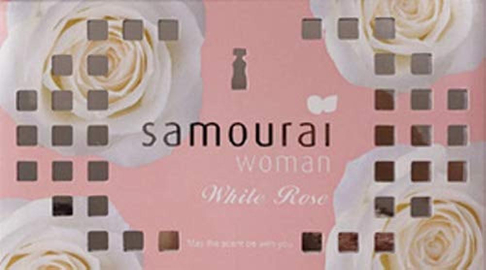 動力学不愉快ビバSamourai woman(サムライウーマン) サムライウーマン ホワイトローズ フレグランス ボックス ホワイトローズの香り 170g
