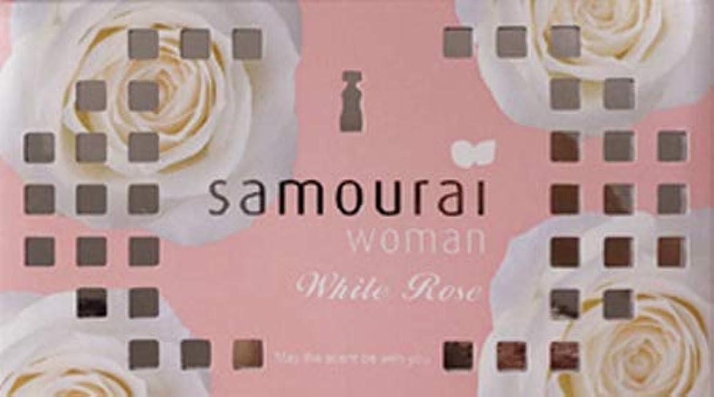 誤ってステープル熟したSamourai woman(サムライウーマン) サムライウーマン ホワイトローズ フレグランス ボックス ホワイトローズの香り 170g