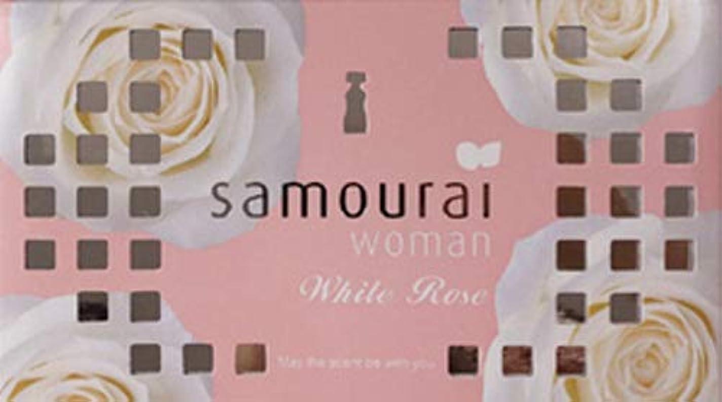 認めるレクリエーション降雨Samourai woman(サムライウーマン) サムライウーマン ホワイトローズ フレグランス ボックス ホワイトローズの香り 170g