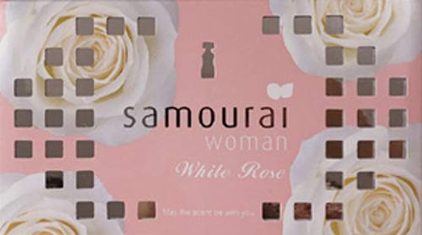 たくさん五十密度Samourai woman(サムライウーマン) サムライウーマン ホワイトローズ フレグランス ボックス ホワイトローズの香り 170g