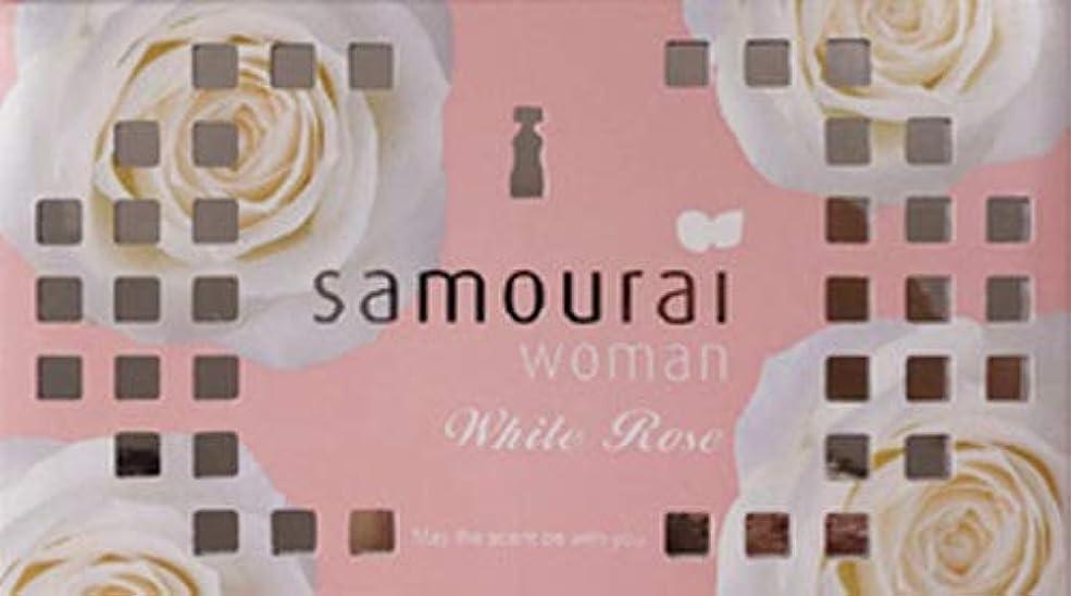 ペナルティ倫理的おじさんSamourai woman(サムライウーマン) サムライウーマン ホワイトローズ フレグランス ボックス ホワイトローズの香り 170g