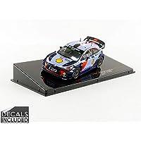 ixo 1/43 ヒュンダイ i20 クーペ WRC モンテカルロ 2017#5 完成品
