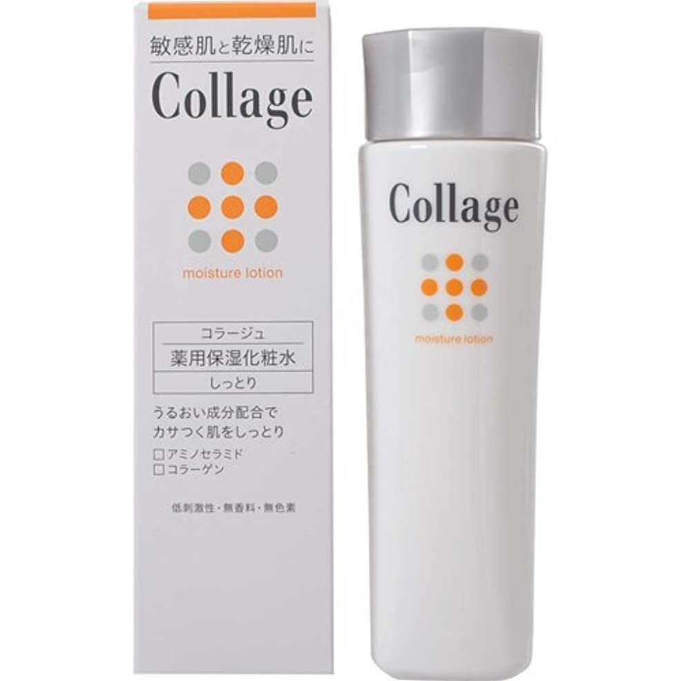 問題洗練された容器コラージュ 薬用保湿化粧水 しっとり 120mL ×6個