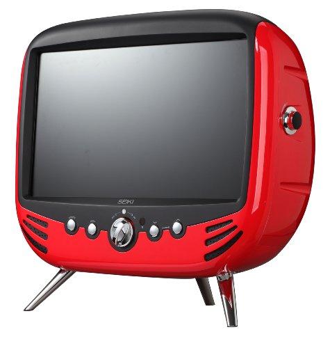 Seiki クラシック 21.5インチ レトロ調 ハイスペック LED 高画質 TV モニタ HDMI ヤマハスピーカー 2.1ch【平行輸入品】