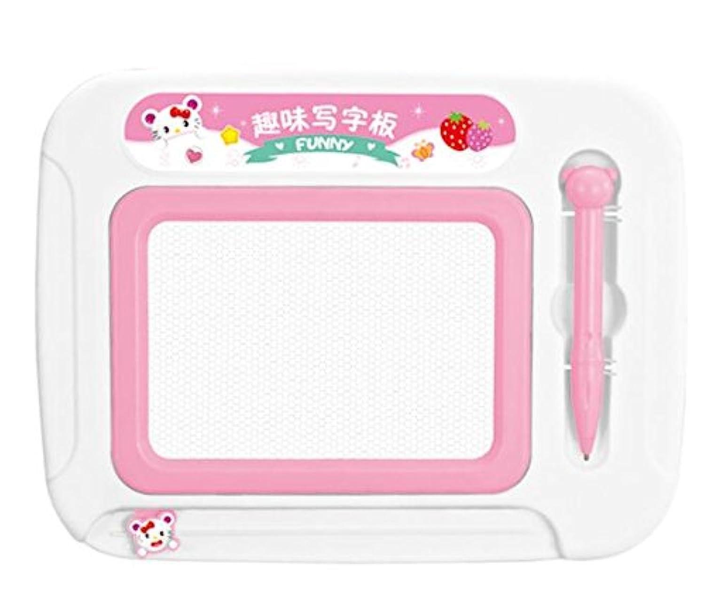 HuaQingPiJu-JP 子供のための魔法のスケッチボードに描画する消去可能なカラフルな落書き落書き板教育玩具
