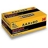 Kodak XTRALIFE AAA 60 Pack Alkaline Batteries, (30410985)