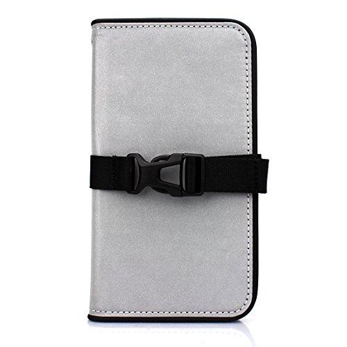 Fantastick iPhone X用 手帳型ケース Diary Reflector(Black)Fantastick Diary Case Reflector B06B957-A079-A2